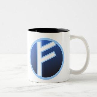 Fehu Feoh Rune Mug