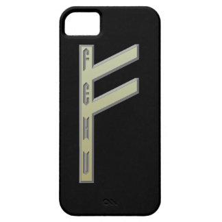 Fehu Rune gold iPhone SE/5/5s Case
