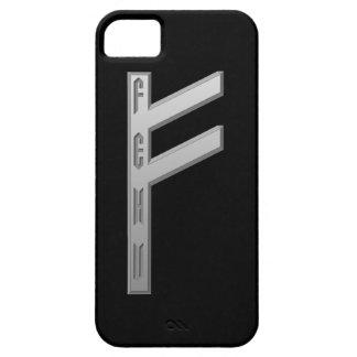 Fehu Rune grey iPhone SE/5/5s Case