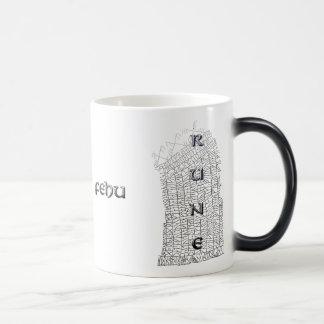 Fehu rune mug