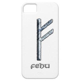 Fehu rune symbol iPhone SE/5/5s case