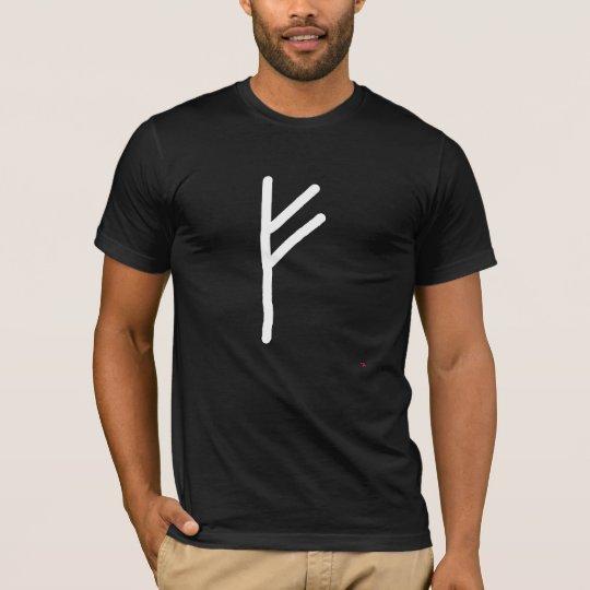 Fehu Rune symbol Meaning wealth luck charisma succ T-Shirt