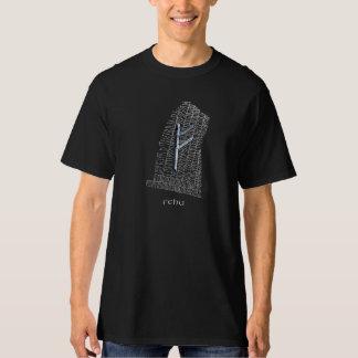 Fehu rune symbol on west Rok runestone T-Shirt