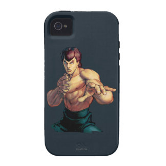 Fei Long Hands Raised iPhone 4 Cases