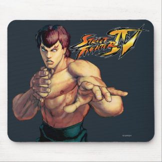 Fei Long Hands Raised Mouse Pad