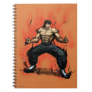 Fei Long Stance Spiral Note Book