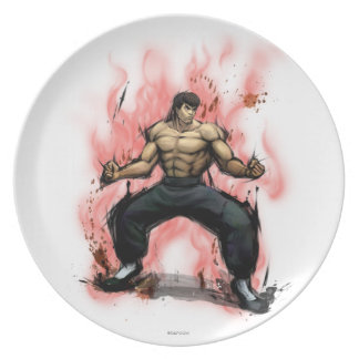 Fei Long Stance Party Plates