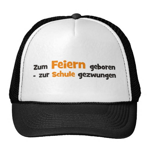 Feiern Trucker Hats