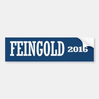 FEINGOLD 2016 CAR BUMPER STICKER