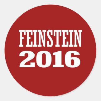 FEINSTEIN 2016 PEGATINAS REDONDAS