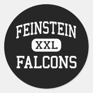 Feinstein - Falcons - alto - Providence Etiqueta Redonda