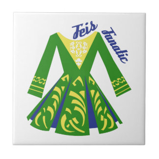 Feis Fanatic Ceramic Tile