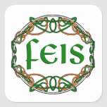 FEIS SQUARE STICKERS