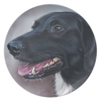 Feist Labrador Dinner Plate