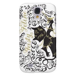 Feisty Feline Galaxy S4 Cover