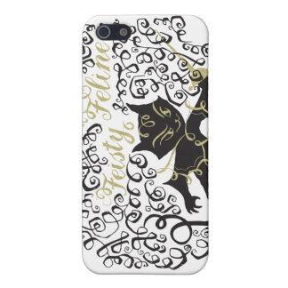 Feisty Feline iPhone SE/5/5s Cover