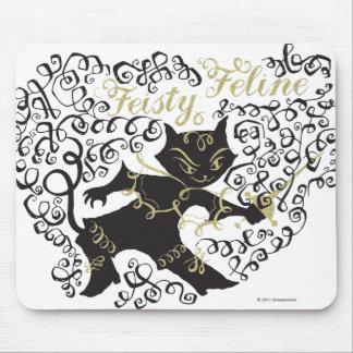 Feisty Feline Mouse Pad