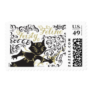 Feisty Feline Postage