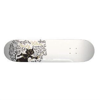 Feisty Feline Skateboard Deck
