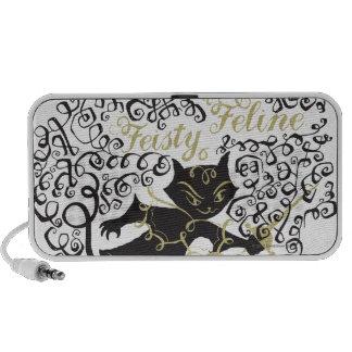 Feisty Feline iPod Speakers