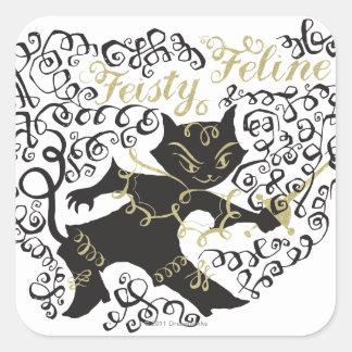 Feisty Feline Stickers