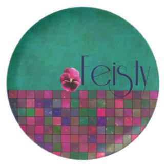 FEISTY - Melamine Plate