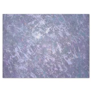 """Feisty Metallic Purple Abstract Splatter 17"""" X 23"""" Tissue Paper"""