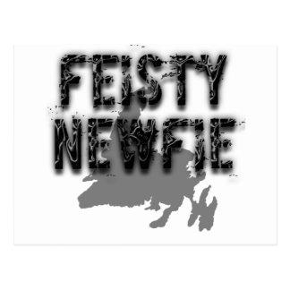 Feisty Newfie Funny Newfoundland Postcard