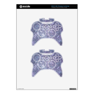 Feisty Tech | Chic Lilac Purple Lavender Splatter Xbox 360 Controller Skin