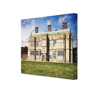 Felbrigg Hall North Norfolk. Canvas Print