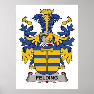 Felding Family Crest Print