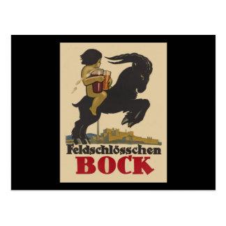 Feldschloesschen Bock Postcard