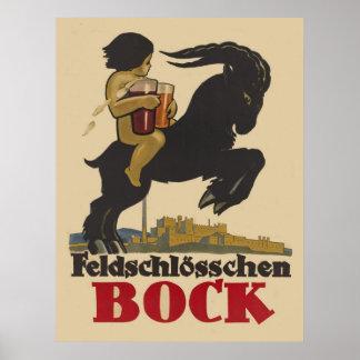 Feldschloesschen Bock Poster