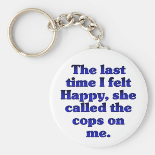 Feleling Happy (Female) Keychain