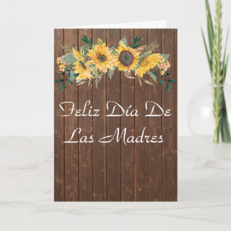Feli Día De Las Madres Mother's Day Card Spanish