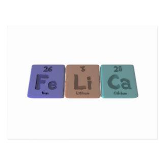 Felica as Ferum  Lithium Calcium Postcard