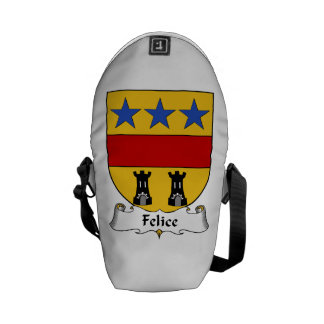 Felice Family Crest Courier Bag