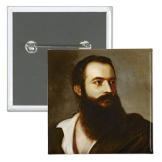 Felice Orsini 2 Inch Square Button
