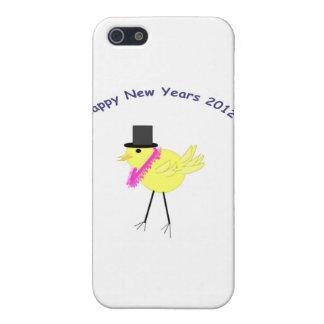 Felices Año Nuevo de polluelo 2012 con estilo iPhone 5 Cobertura