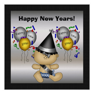 Felices Año Nuevo de poster
