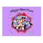 Felices Año Nuevo de tarjetas Postales