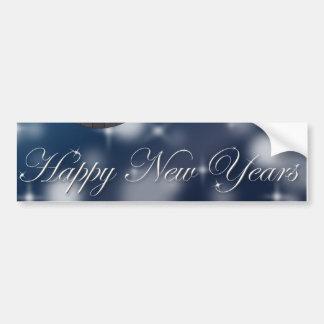 ¡Felices Año Nuevo! Pegatina Para Auto
