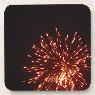 ¡Felices Año Nuevo! Posavasos De Bebidas