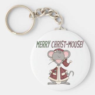 Felices camisetas y regalos del Cristo-Ratón Llavero