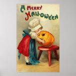 Felices deseos de Halloween Poster