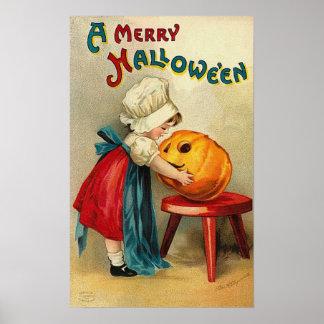 Felices deseos de Halloween Póster