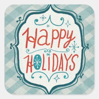 Felices días de fiesta de Christmastime