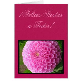 ¡Felices Fiestas a Todos! - Dalia Rosa Card