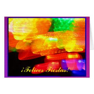 ¡Felices Fiestas! - Multicolor Card