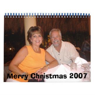Felices Navidad 2007 Calendario